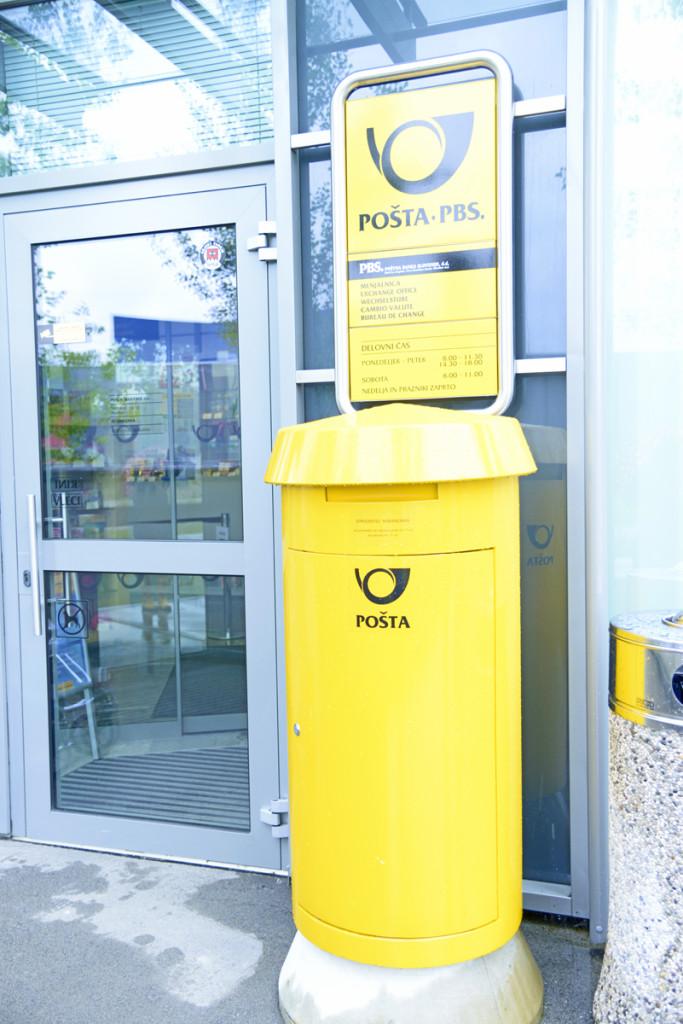 Почта в Словении