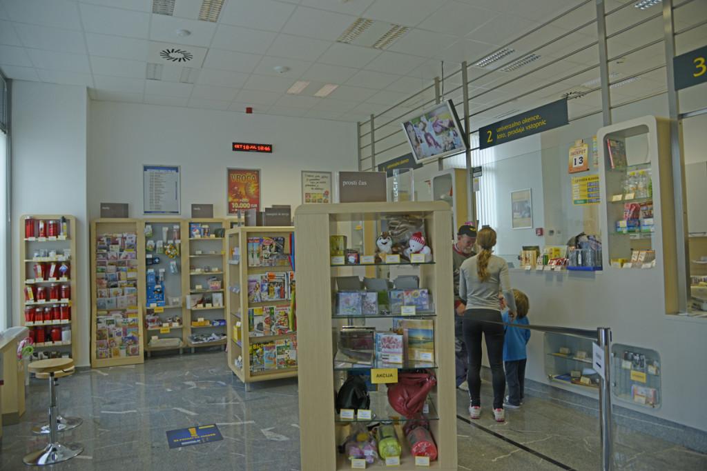 Почтовое отделение в Словении