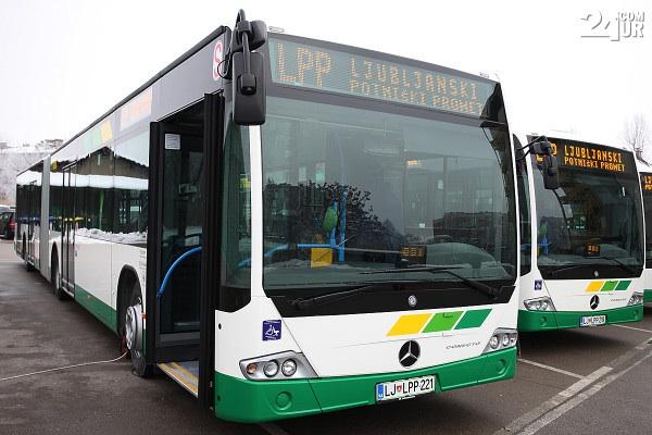 городкие автобусы в Словении