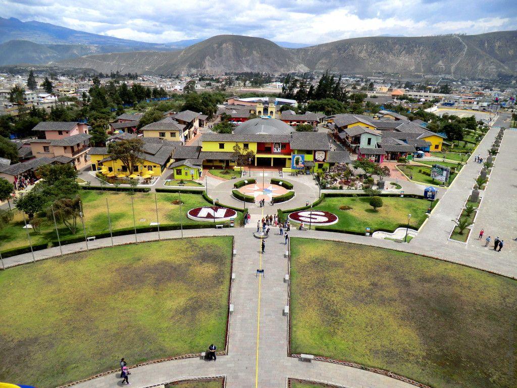 музей экватора вид с памятника
