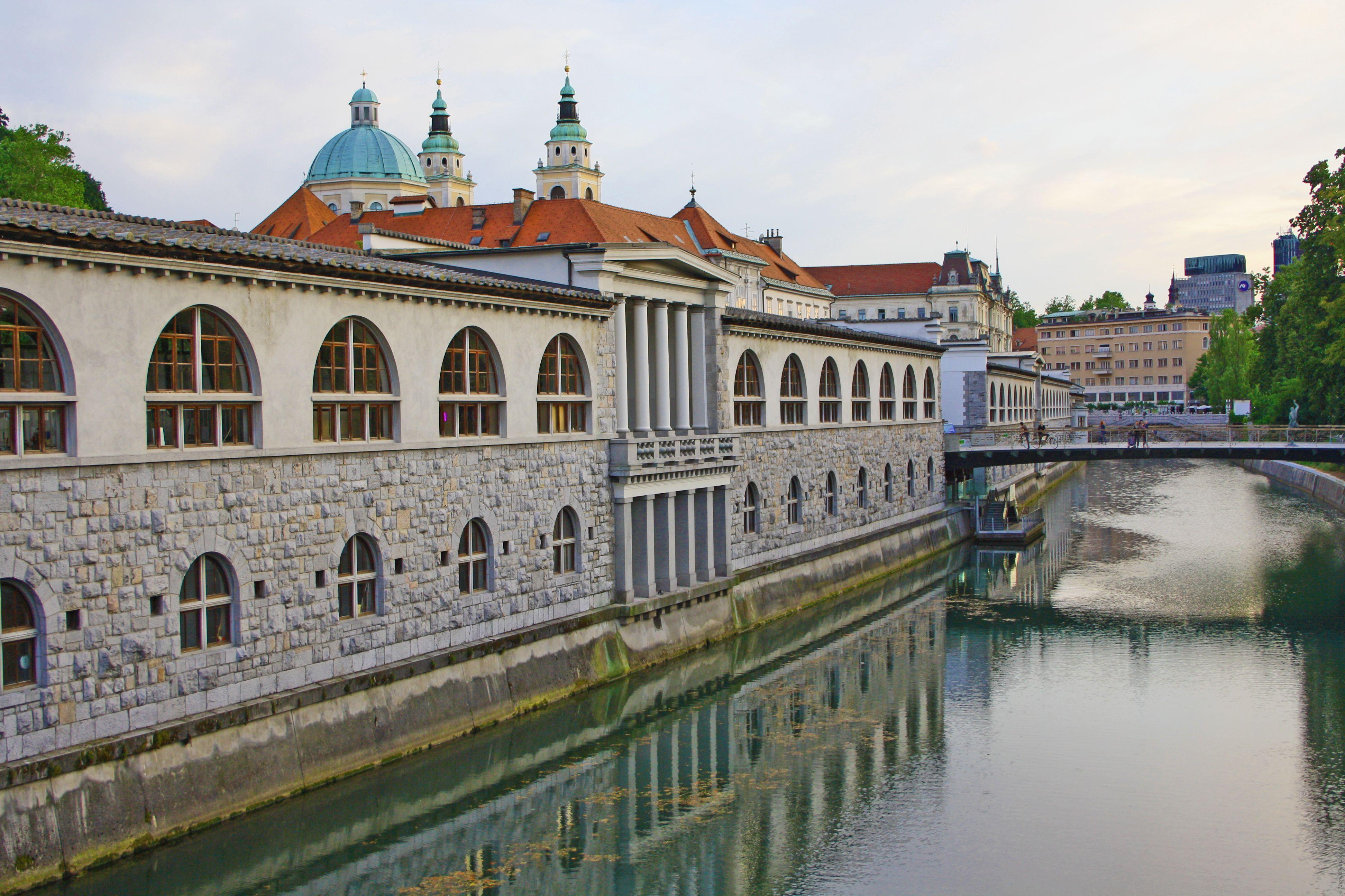 Набережная, Любляна, Словения