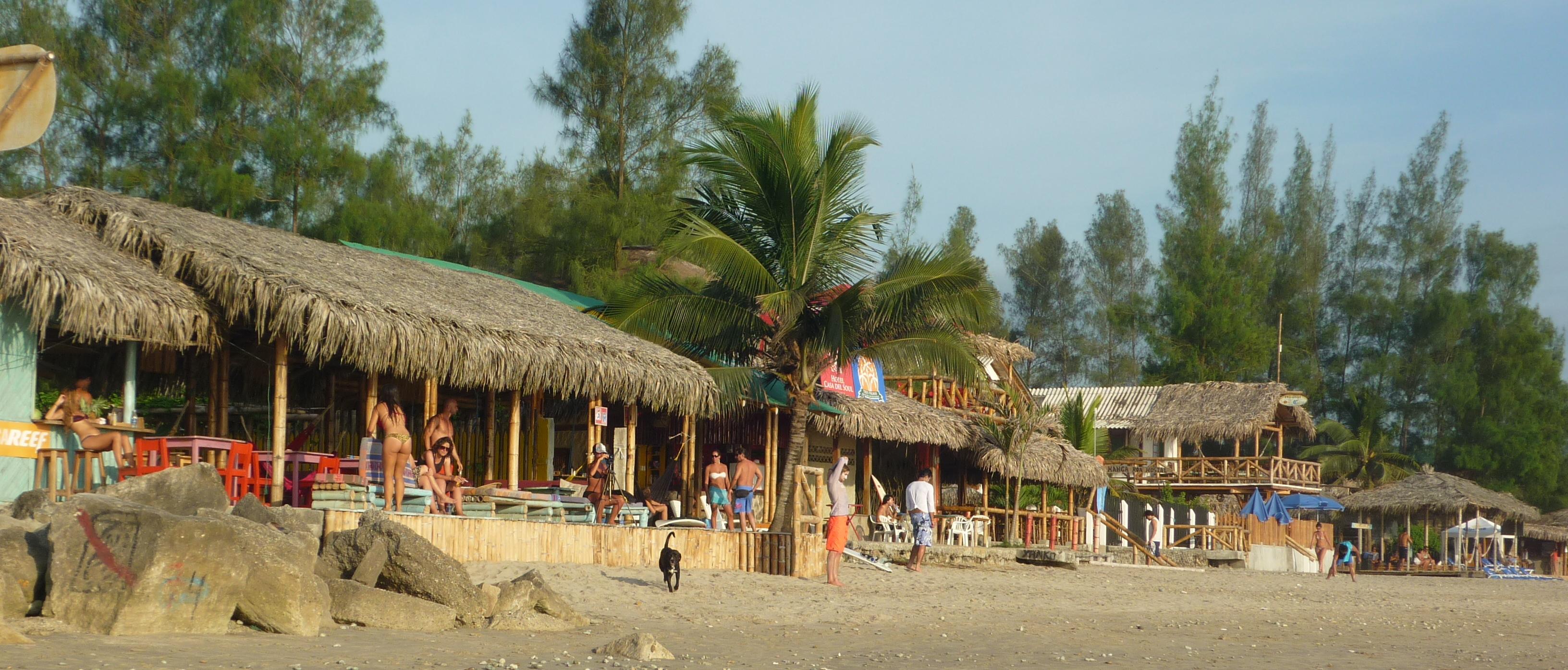 Montañita пляж