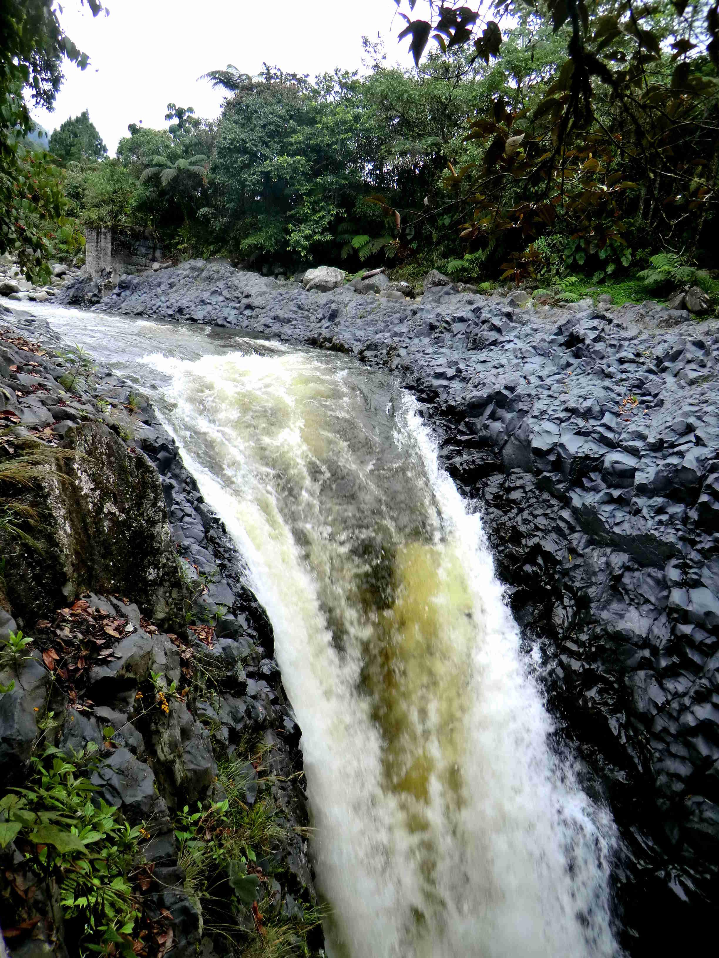 Rio Verde начало водопада