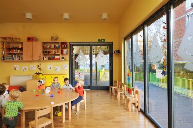 Детский сад в Словении (группа изнутри)