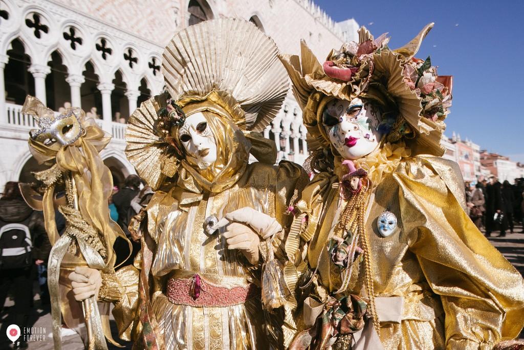 Carnival in Venice, Masks. Italy