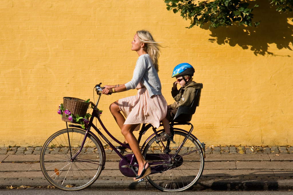woman-and-kid-on-bike