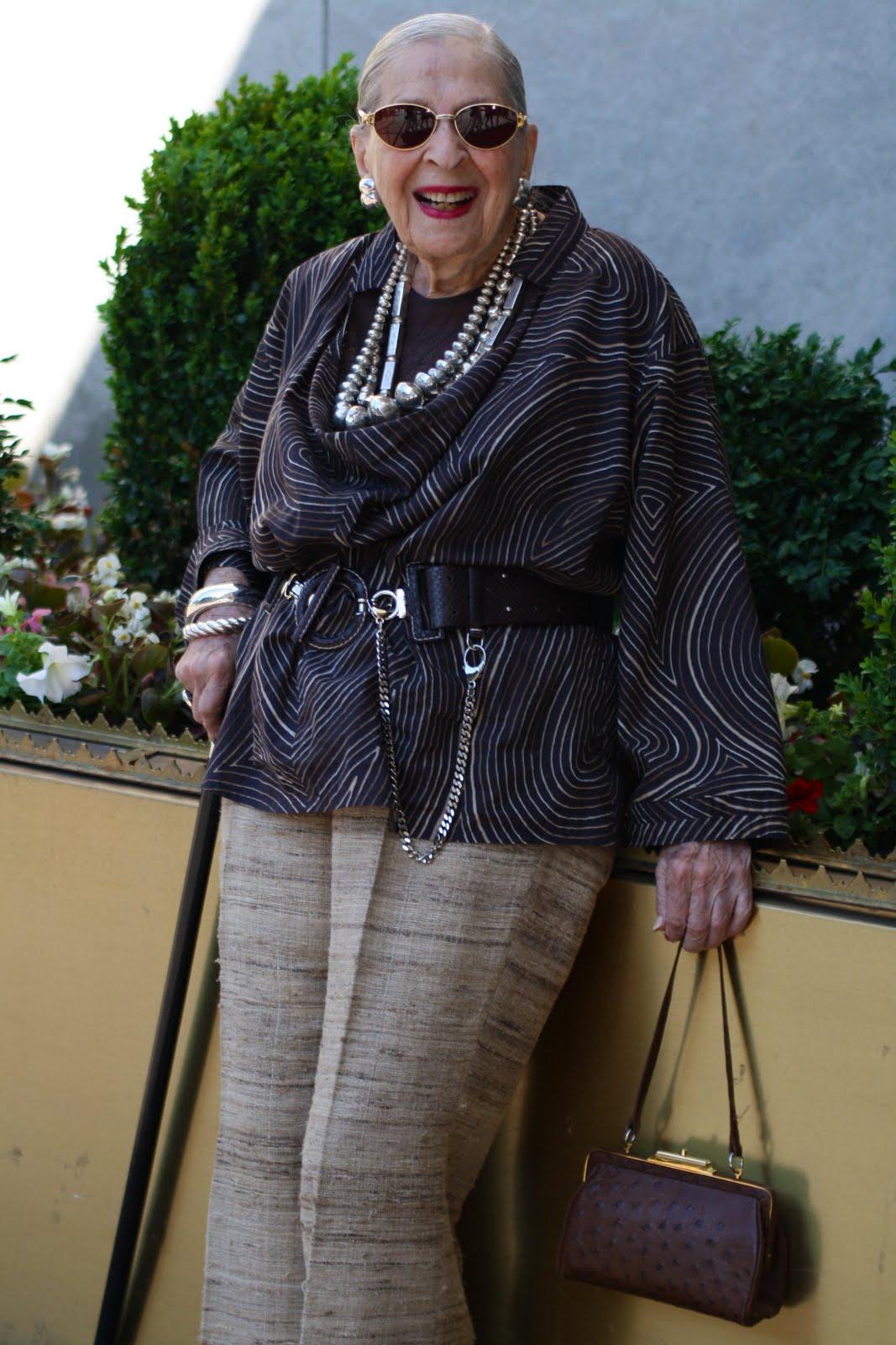 Мода для женщин элегантного возраста 4 фотография