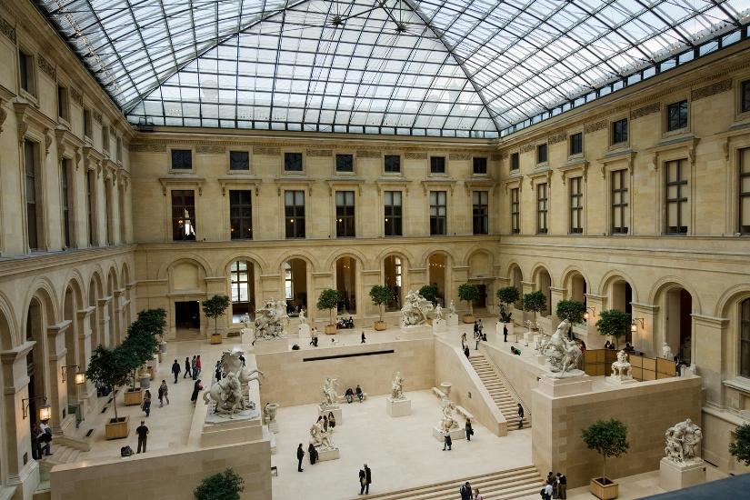 Франция - Лувр