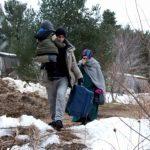 Нелегальные мигранты добрались до Канады