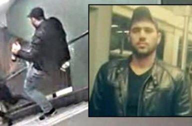 Найден мигрант, пнувший девушку в берлинском метро