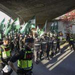 В Швеции марш неонацистов привёл к столкновению