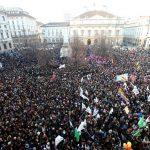 В Риме итальянцы провели акцию против беженцев