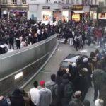 СМИ: Полиция задержала участников беспорядков в Брюсселе