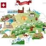 Карта Швейцарии с городами. Рассказы туристов