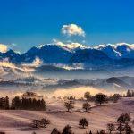 Швейцария зимой