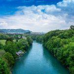 Красивая река в Берне — Ааре