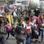 2 тысячи мигрантов из каравана уже в столице Мексики