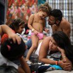 Караван центрально - американских мигрантов изнутри