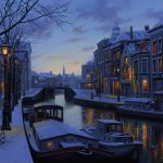 Весёлые зимние развлечения в Нидерландах