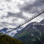 Подвесной мост, где не место слабонервным