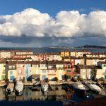 Очаровательный порт Гримо на Французской Ривьере