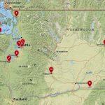 10 лучших городов для посещения в штате Вашингтон